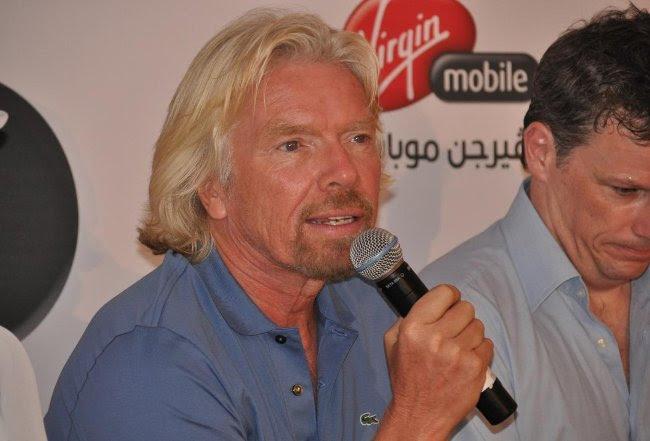 Richard Branson: Biết cho đi