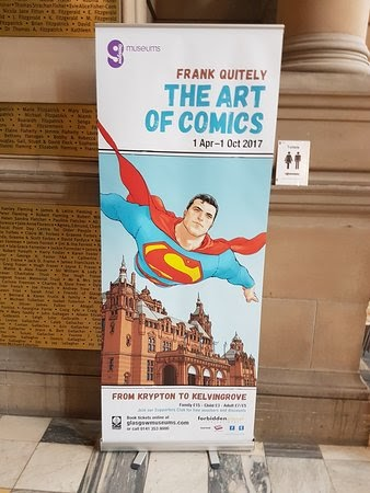 Kelvingrove Art Gallery Comic Exhibition