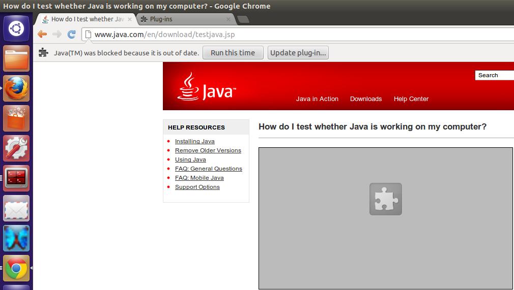 Java plugin 1 7 0.21