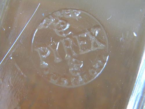 Unknown Glass Dish - Bottom Stamp