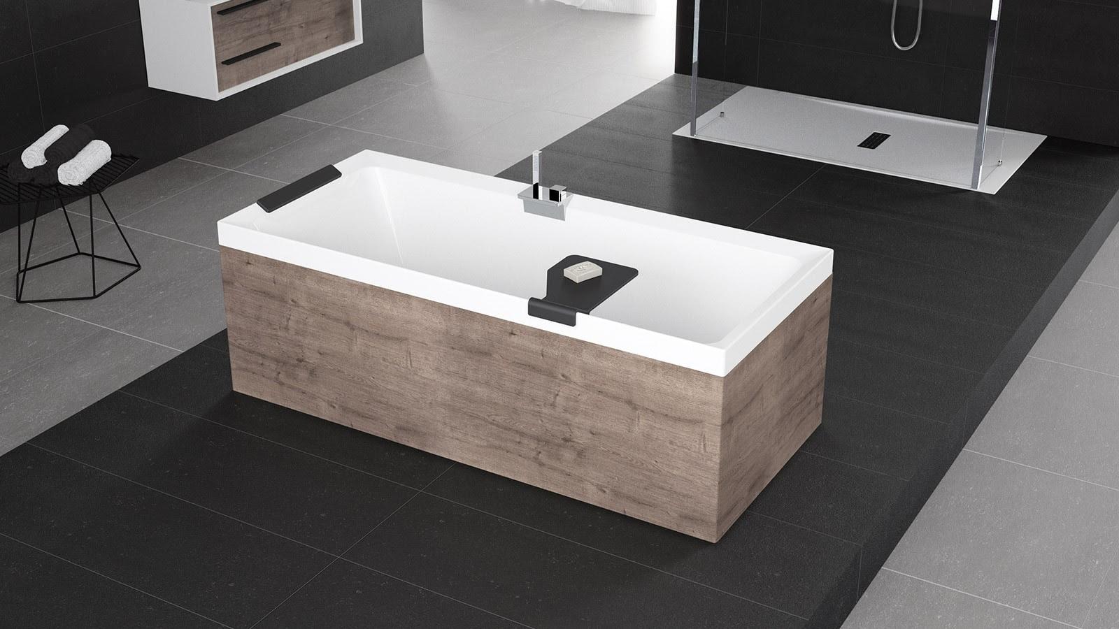La nuova vasca da bagno DIVA della Novellini, immersione ...