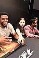 black panthers chadwick boseman meets fans at d23 expo 03