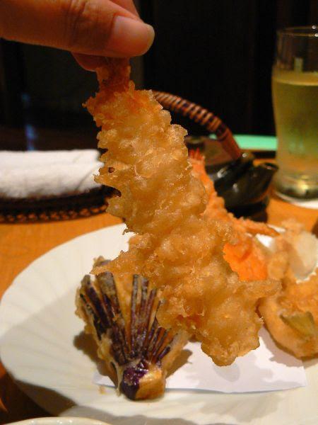 tempura prawn