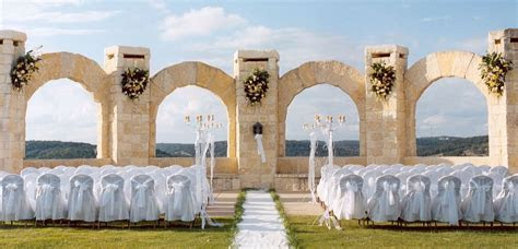 San Antonio Wedding Venues   El Fortin Lawn   La Cantera
