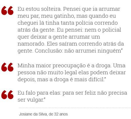 Josiane da Silva (Foto: Arte/G1)