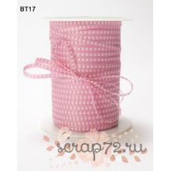 Лента от May Arts, цвет розовый, 3мм, 90см