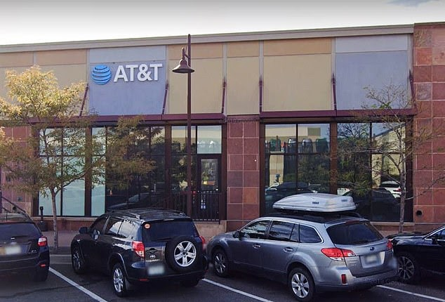 Convicted sex offender, 38, 'spends hours watching child porn on AT&T store iPad' until horrified workers called police