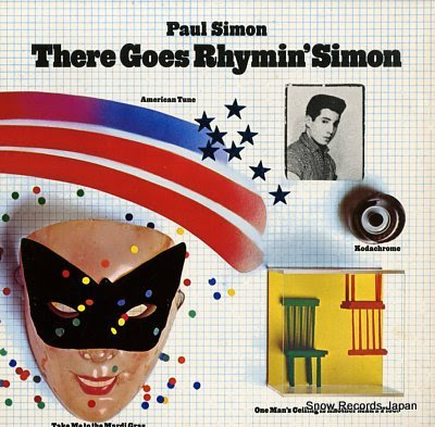 SIMON, PAUL there goes rhymin' simon