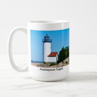 Mug, Annisquam Light, Gloucester