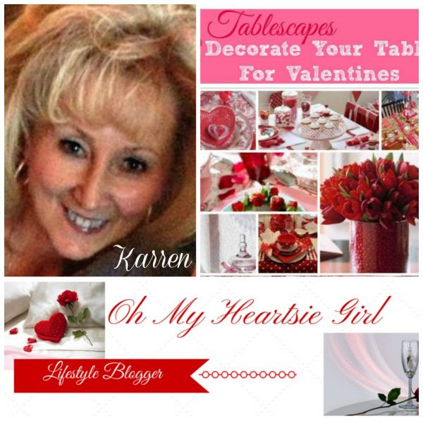 Tablescapes for Valentines