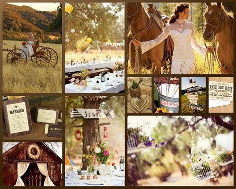 Western Wedding Theme Decorations : Have your Dream Wedding