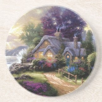 Country Cottage Coaster