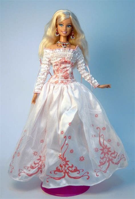 barbie doll party dress wedding gown casual wears clothes