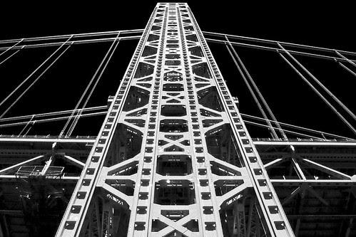 George Wahhington Bridge Tower