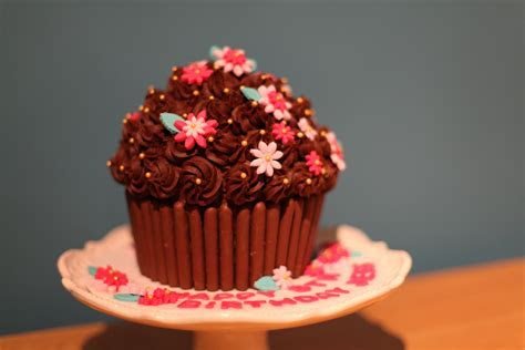 giant cupcake   filledwithlovecupcakes