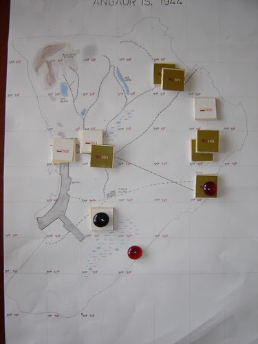 Angaur Campaign Map - End Positions