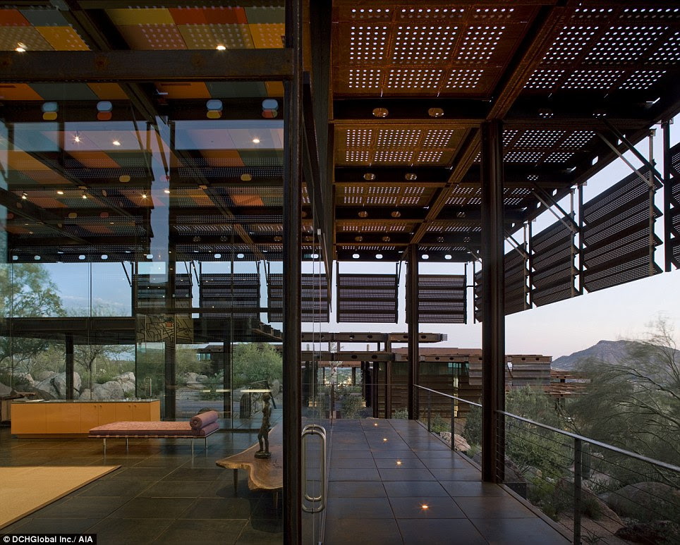 The interior of the Red Rock home in Arizona