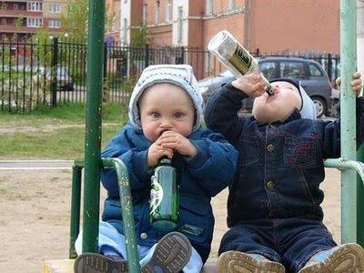 Beber é um ato social.