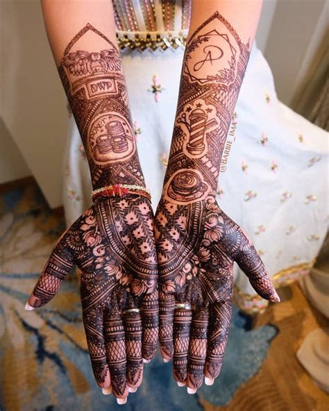 35  Modern Bridal Mehndi Design Ideas for Your 2018 Wedding!