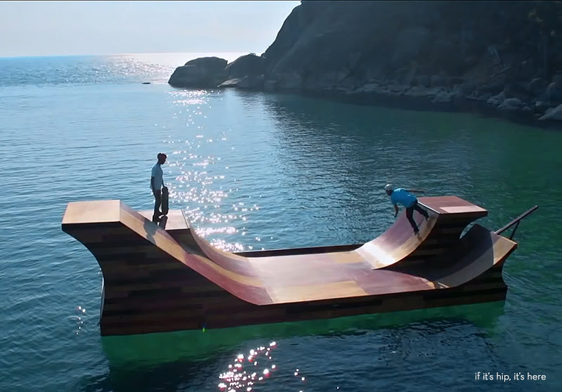 floating skate ramp 6 IIHIH