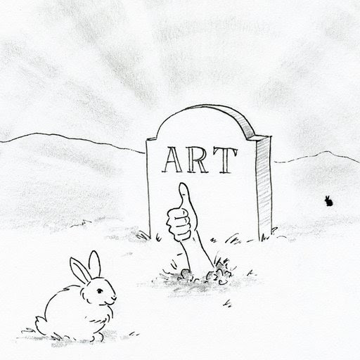 A Dead Rabbit and The Marvel of Virtuosity: Why I Can't Leave the Art World Behind