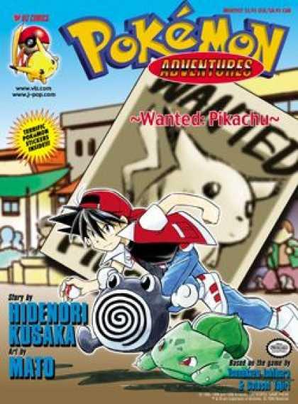 Pokemon Adventures Covers