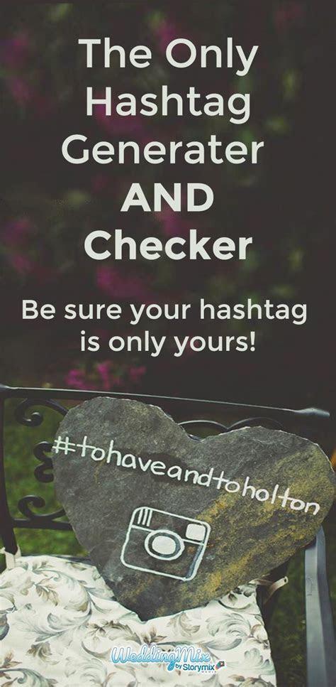 The 25  best Creative wedding hashtags ideas on Pinterest