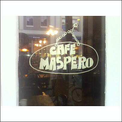 Cafe Maspero on Decatur ST in New Orleans