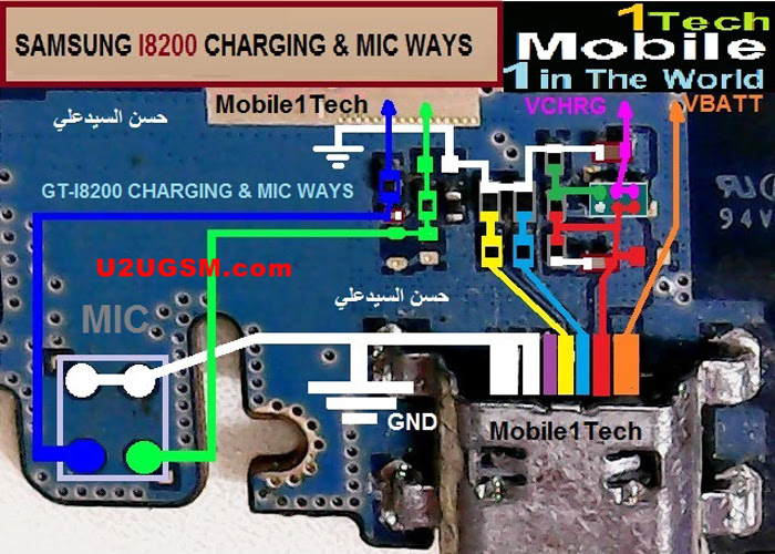 Samsung Galaxy S3 mini I8200 Charging Solution Jumper Problem Ways