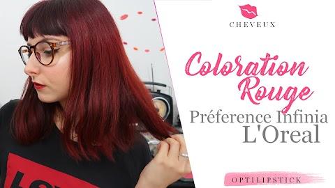 Coloration Rouge - J'ai testé Préférence Infinia de l'Oreal