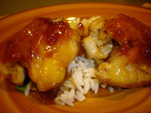 Ginger Soy Chicken Thighs