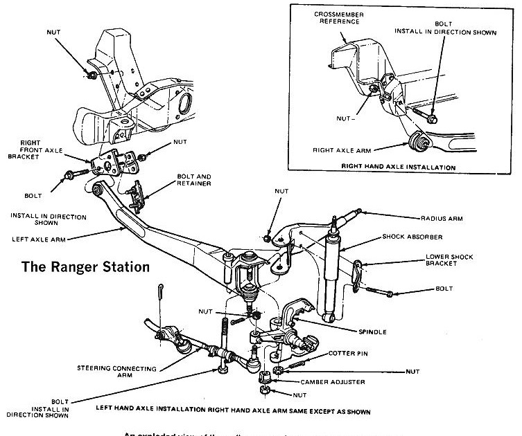 Wiring Diagram  28 2001 Ford F150 4x4 Front Suspension Diagram