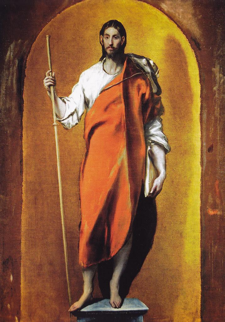 Santiago el Mayor peregrino. Obra de El Greco