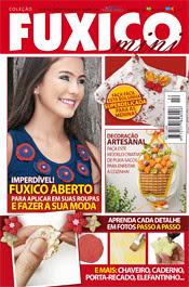Revista de mini fuxicos com 1 trabalho meu, by Vera Arte em Giz
