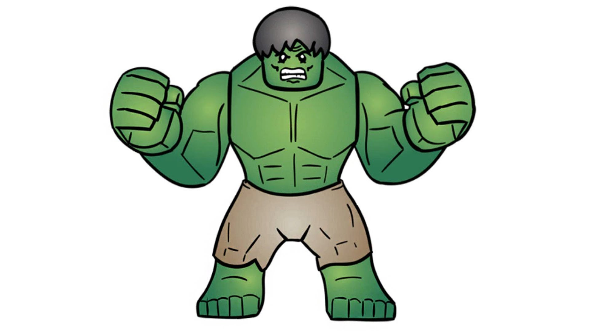 Lego Super Heroes Hulk Lego Coloring Coloring For Kids Color