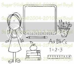 Sugar Stick - Teacher & Accessories