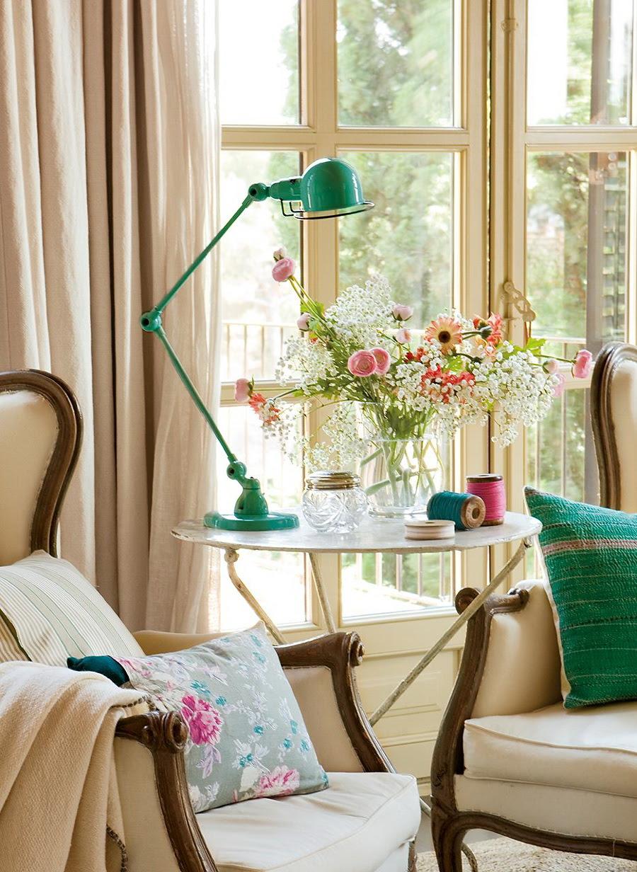 El Mueble dormitorio un aire vintage en azul y rosa 2