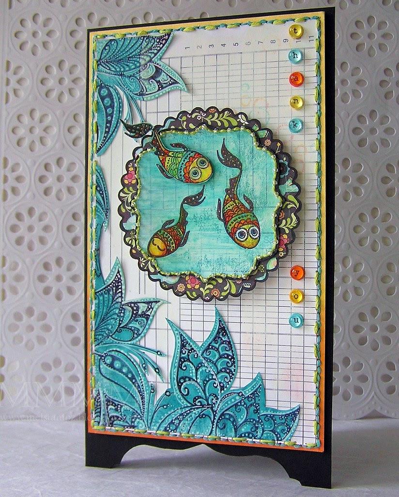 BasicGrey gesso fish mel stampz - Copy
