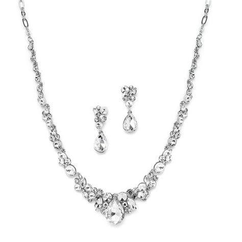 Amantea Crystal Wedding Jewellery Set   Zaphira Bridal
