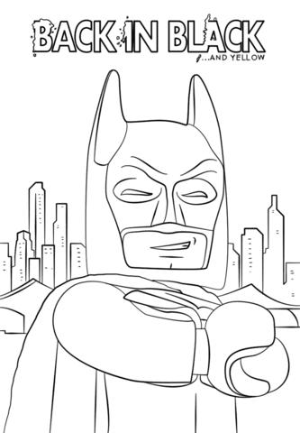 Dibujos De Lego Batman Para Colorear Páginas Para Imprimir Y