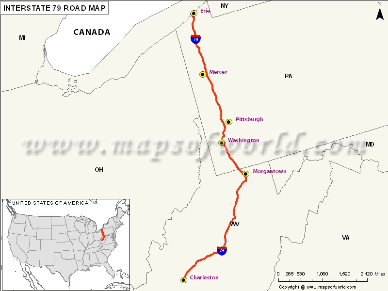 Image Result For Road Map Virginia