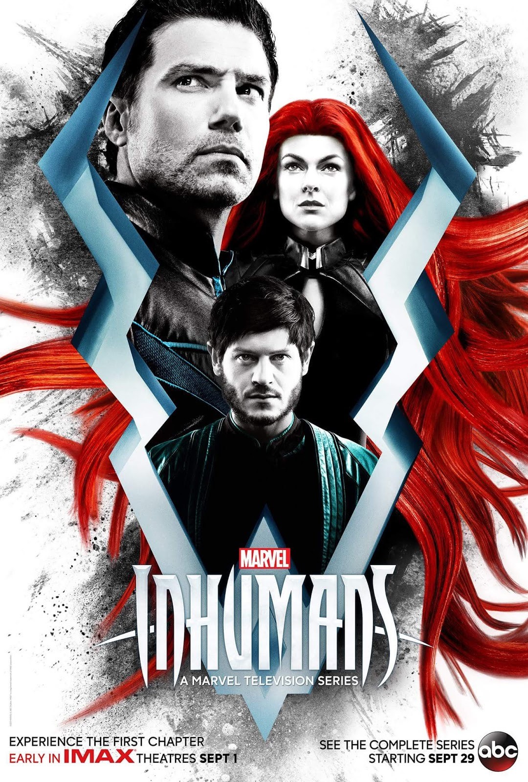 Marvel's THE INHUMANS Presents A New IMAX Poster, Affirms TV Premiere Date