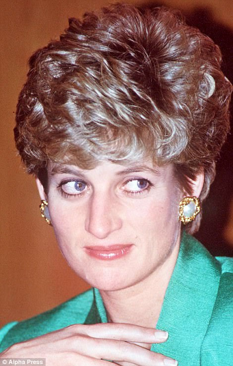 Diana hairstyle that was her crowning glory | Daily Mail ...