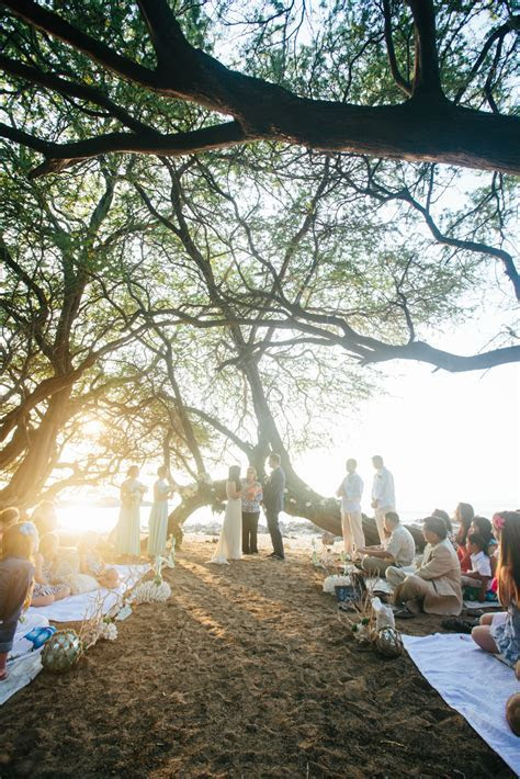 Bohemian Beach Wedding ~ Waialea Beach ~ Hawaii » Kona