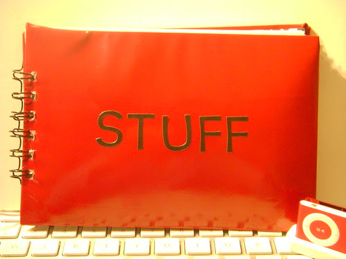 "Puffy ""Stuff"" journal"
