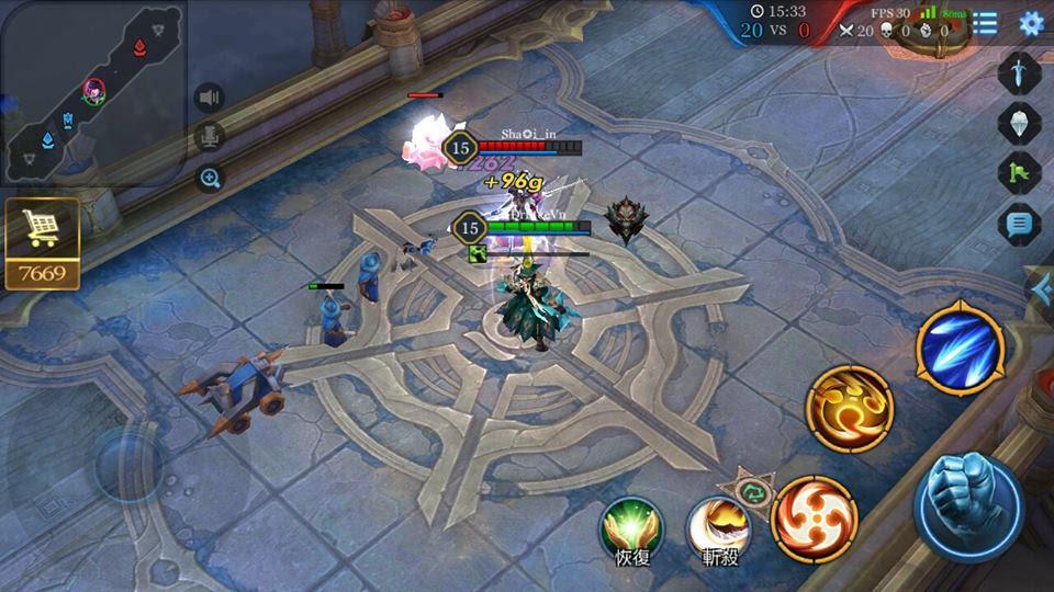 Game Liên Quân Huyền thoại LQHT Garena