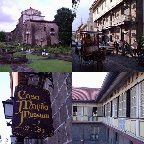 Intramuros collage