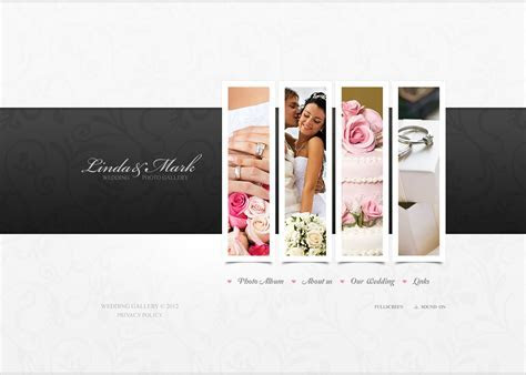 Wedding Album Flash Template #38412