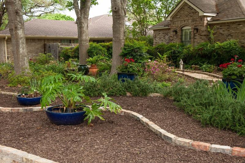 Front yard makeover no grass: Doris Reagan | Central Texas ...