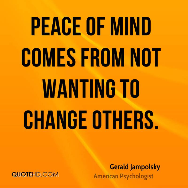 Gerald Jampolsky Quotes Quotehd